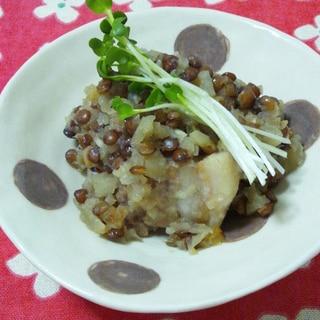 豚バラとビーツとレンズ豆の煮込み