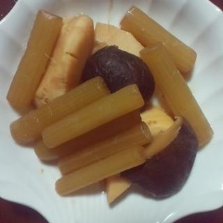 ふきと竹の子の煮物