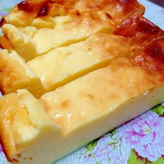 カッテージチーズでヘルシー☆ベイクドチーズケーキ