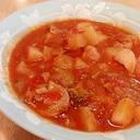 ご飯がすすむ!鶏もも肉のトマト煮
