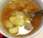 じゃがいもと玉ねぎのコンソメスープ
