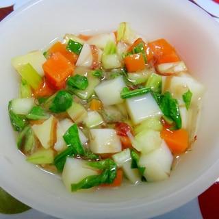 離乳食後期*レンジだけで作る!野菜のうま煮