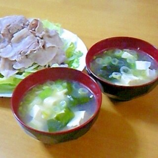 豚しゃぶの茹で汁で!コクうまスープ