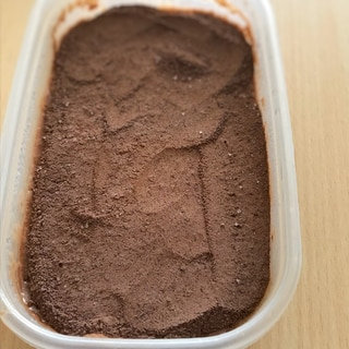 ゼラチン不要*チョコムース