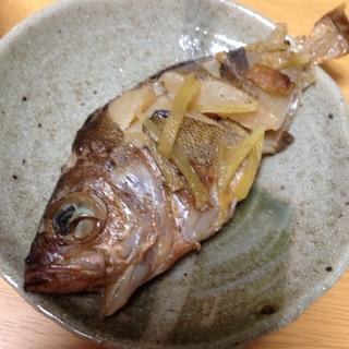 メバルの麺つゆ煮(*^^*)☆