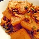 鶏胸肉と大根の焼肉のタレ漬け焼き☆