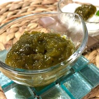 シロップ漬けの梅と砂糖をレンチン 1分❤️梅ジャム