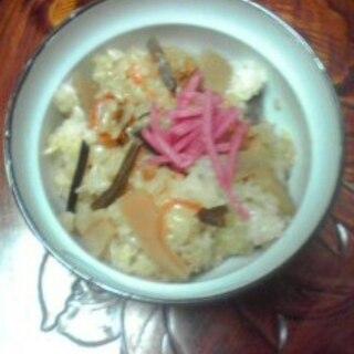 筍とぜんまいの混ぜご飯