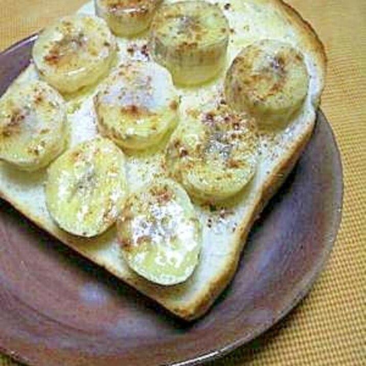 簡単!シナモンバナナトースト