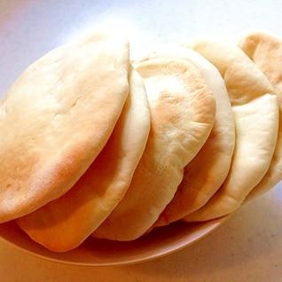 ホームベーカリーで手作りピタパン