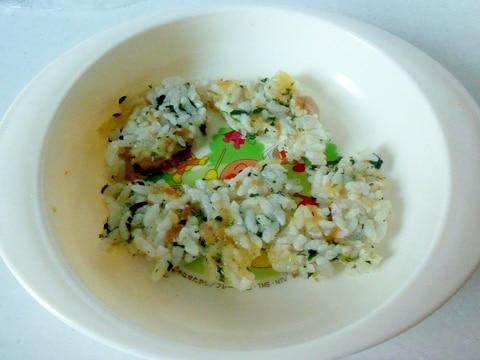 ☆手づかみ食べに♪納豆とツナとほうれん草のお焼き☆