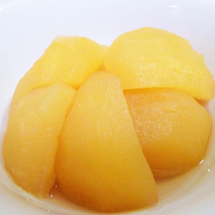 いろいろ使える 圧力鍋で煮リンゴ