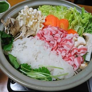 黒豚みぞれ鍋(雪見鍋)
