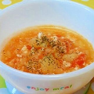 【離乳食】ささみ&じゃがいものトマト煮