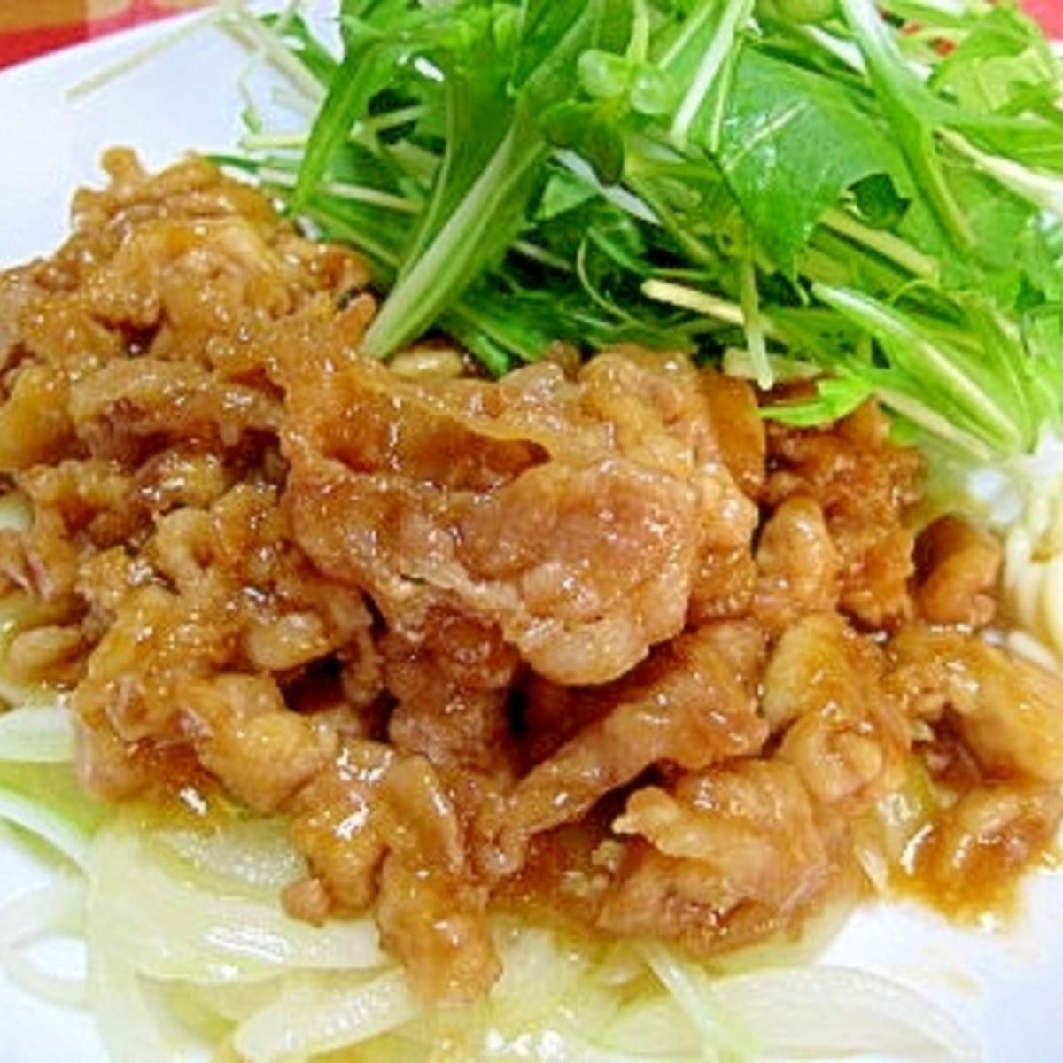 激 ウマ 生姜 焼き レシピ