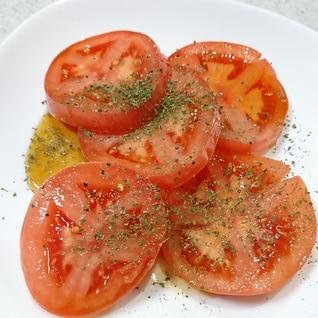 超簡単!オリジナルドレッシングのトマトサラダ