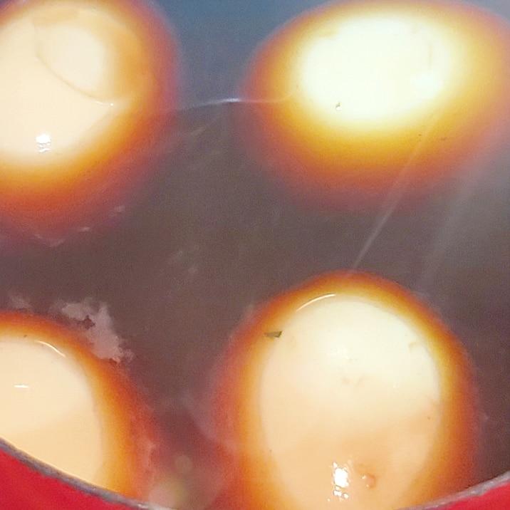 紅茶の煮卵