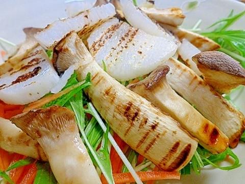 山芋とエリンギのゆず胡椒かけサラダ