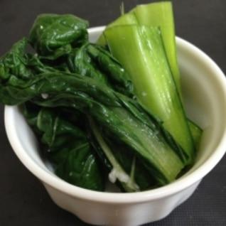 野菜を食す!小松菜の塩麹漬け