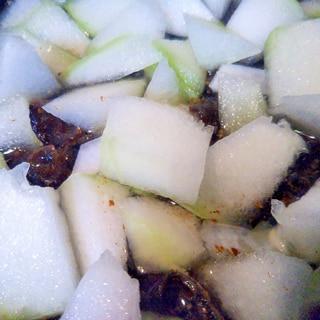 青りんご&梨のスパイシーピクルス