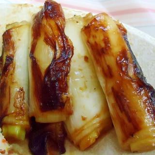 トースターで シンプル葱焼き