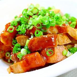 豚肉のケチャップ炒め