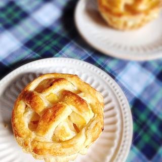 至福の時♪アップルカスタードパイ