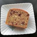 超簡単!!サラダ油で薩摩芋と餡子のパウンドケーキ♪