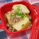 ストウブDe〜里芋と豚ひき肉の煮物