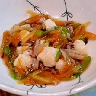 【離乳食】鶏団子の野菜あんかけ