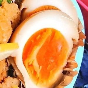 黄身だけトロトロの半熟卵の作り方★角煮に最適な煮卵