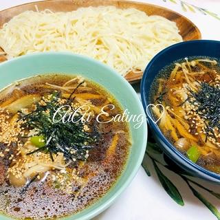 ♡きのこたっぷり♪簡単きのこつゆ素麺♡
