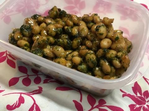 お弁当用常備菜♡青海苔香る大豆