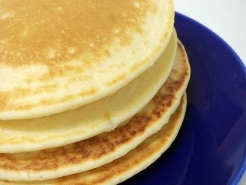 ベーキングパウダーなしでも出来る☆ホットケーキ
