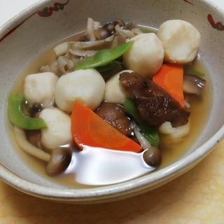 さといもときのこと野菜の煮物