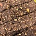 レンジで4分☆豆腐とオートミールのチョコバー
