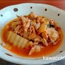 わが家の人気メニュー♡白菜と豚肉のケチャップ煮