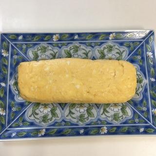 だし巻き 卵焼き⭐卵1個、レンジで、やわらか