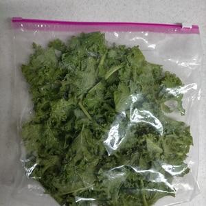 ケールの保存方法☆冷凍