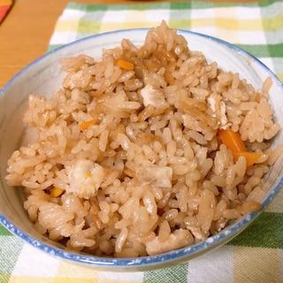 炊き込みご飯の美味しい配合★
