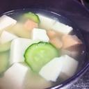 残り物が贅沢な一品に!鮭と豆腐の潮汁(うしおじる)