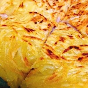 チーズたっぷり♪(^^)じゃがいものガレット♪