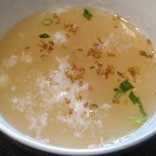 卵白スープの作り方!