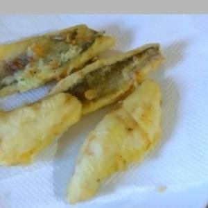 セイゴの天ぷら