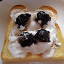 生ごま団子トースト