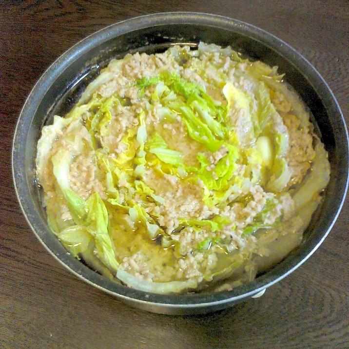 ひき肉 レシピ 白菜