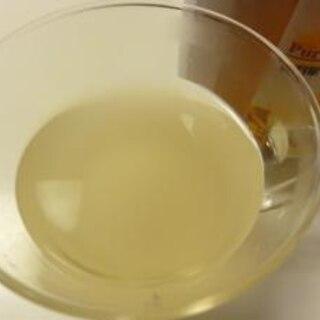 寒い夜のホットカクテル!焼酎のはちみつ生姜湯割り