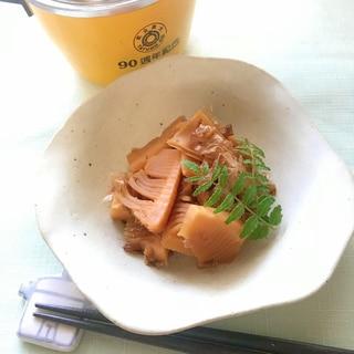 ◤電鍋レシピ◢たけのこの土佐煮/だし汁なし無水調理