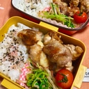 お弁当!お子様に✨しっかり味の豚こまチーズボール✨