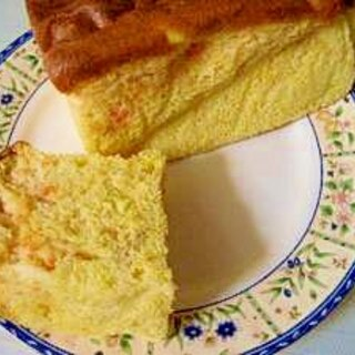 ノンオイル✿にんじん入りふわふわケーキ♪